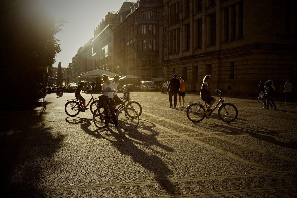 bicyclette ete ville
